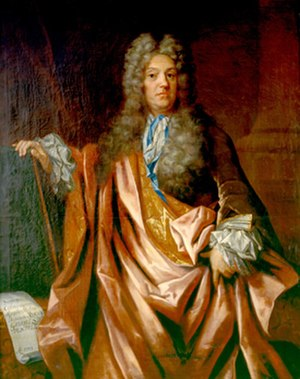 1727 in Sweden - Johan Gabriel Sparwenfeld, portrait by Lukas von Breda.