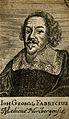 Johann Georg Fabricius. Line engraving, 1688. Wellcome V0001826.jpg