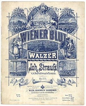 Wiener Blut (waltz) - Cover