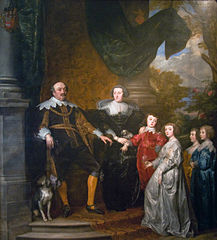 Portrait of John, Count of Nassau-Siegen with his family