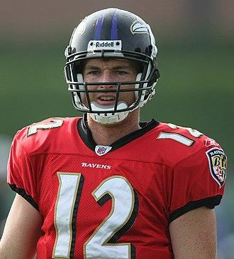 John Beck (gridiron football) - Beck at Ravens 2009 Training Camp.