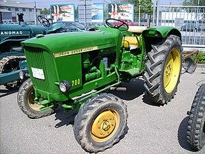 John Deere - A John Deere-Lanz 700 tractor