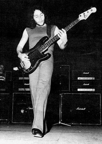 John Glascock - Glascock rehearsing for Jethro Tull (1976)