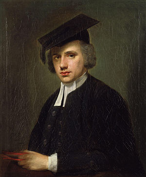 John Hinchliffe - Portrait of Hinchliffe by Nathaniel Hone the Elder, 1757