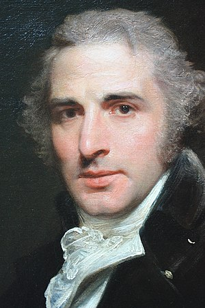John Philip Kemble - John Philip Kemble by Sir William Beechey, 1798 (detail), Dulwich Picture Gallery