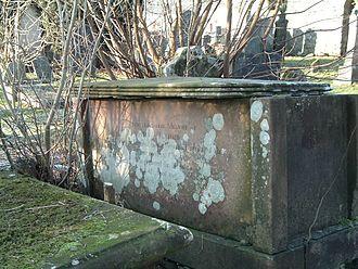 Caledonian Canal - Grave of John Telford, Kilmallie churchyard