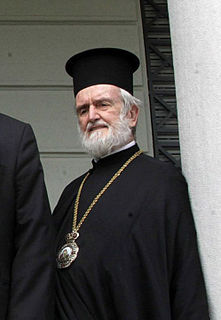John Zizioulas Eastern Orthodox metropolitan of Pergamon