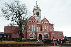 Jones County, Georgia - Image: Jones County Courthouse, Gray, GA, US (08)