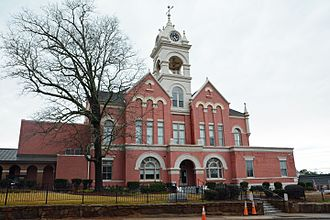 Jones County, Georgia - Image: Jones County Courthouse, Gray, GA, US (08)