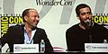Jordan Mechner & Jake Gyllenhaal at WonderCon 2010 1.JPG