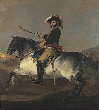José de Palafox y Melci, 1st Duke of Zaragoza - Palafox by Goya