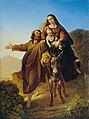 Josef Bayer - Flucht nach Ägypten - 2696 - Österreichische Galerie Belvedere.jpg