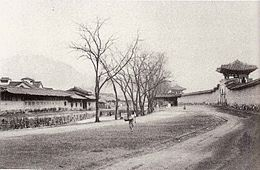 Old Seoul in the late Joseon period.