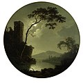 Joseph Wright - Lake with Castle on a Hill.jpg