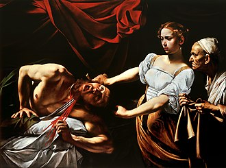 Book of Judith - Caravaggio's Judith Beheading Holofernes