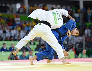 Judo at the 2016 Summer Olympics, Safarov vs Kitadai 16.jpg