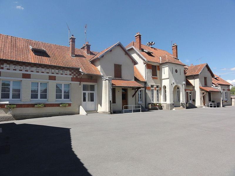 Juvincourt-et-Damary (Aisne) mairie-école