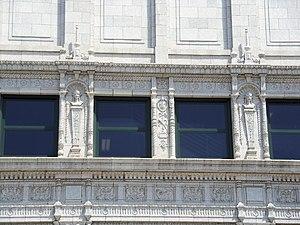 Kahl Building - Decorative details