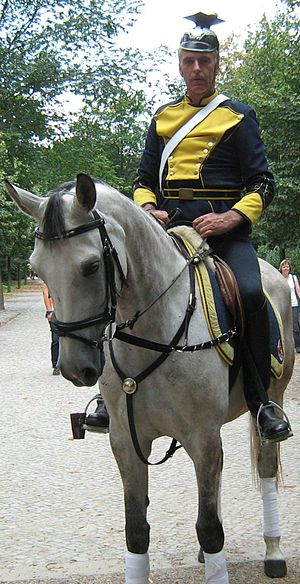 German Army (German Empire) - German Army cavalry re-enactment