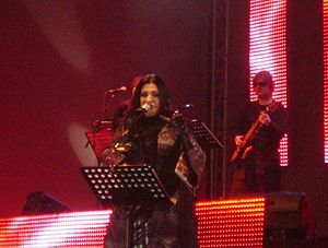 Kaliopi, singer and songwriter.