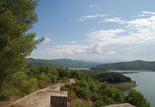 Aslantaş Dam dam in Osmaniye Province, Turkey