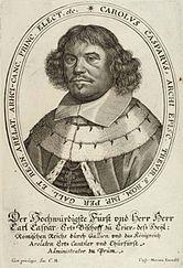 Karl Kaspar von der Leyen, illustration from a coronation diary from 1658