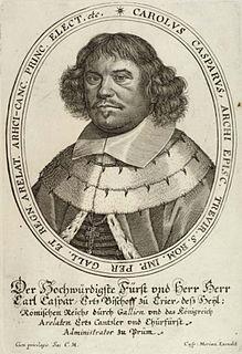 Karl Kaspar von der Leyen Roman Catholic archbishop