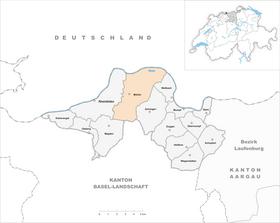 Map of Möhlin