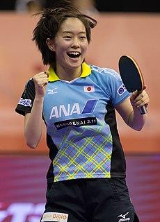 Kasumi Ishikawa Japanese table tennis player