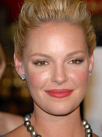 A photo of Katherine Heigl in 2008