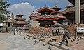 Kathmandu-Durbar Square-23-Kotilingeshwor-Mahavishnu-Kal Bhairav-Mini vor Vishnu-Pratapamalla-Jagannath-2015-gje.jpg