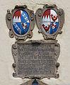 Katholische Pfarrkirche Mariä Geburt in Künzelsau-Amrichshausen Inschrift über Eingang.jpg