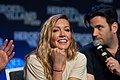 Katie Cassidy and Colin Donnell HVFF 2016 03.jpg
