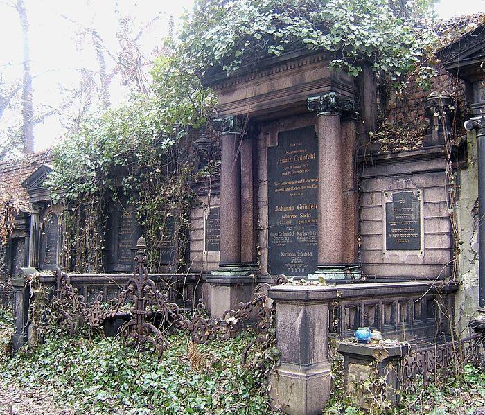 File:Katowice Jewish Cemetery Grünfeld.jpg