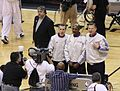 Ken Mauer-Tom Washington-Steve Javie, 2008 NBA Playoffs.jpg