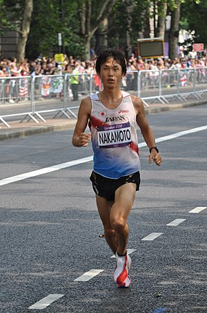 Japan at the 2012 Summer Olympics - Kentaro Nakamoto finished sixth in men's marathon.