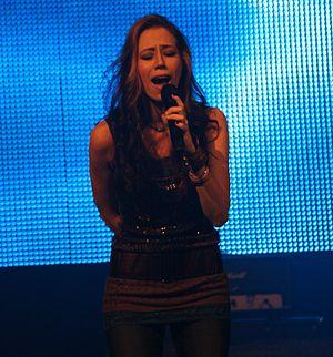 Kerrie Roberts - Roberts singing in 2011