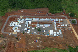Kerry Town Ebola Treatment Centre in Sierra Leone MOD 45158320.jpg