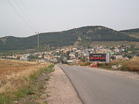 View of Nein from entrance to the village