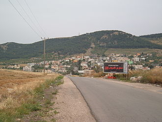 Nein - View of Nein from entrance to the village