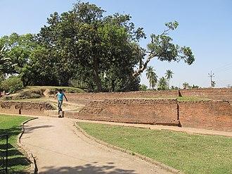 Chandraketugarh - The mound of Khana-Mihir or Barahamihir on Prithiba road, Berachampa (Chandraketugarh ruins)