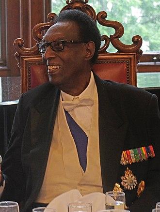 Kigeli V of Rwanda - Kigeli V shortly before his death at the National Liberal Club in London