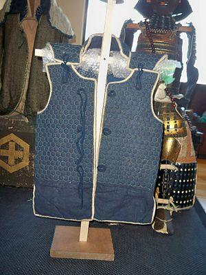 Kikko (Japanese armour) - Image: Kikko vest