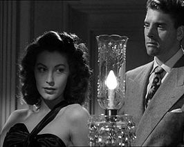 Ava Gardner en Burt Lancaster in The Killers