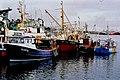 Killybegs - Fishing ships docked in harbour - geograph.org.uk - 1340544.jpg