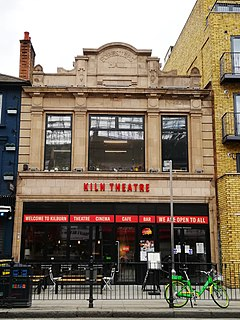 Kiln Theatre theatre and cinema in Kilburn, Brent, London, England