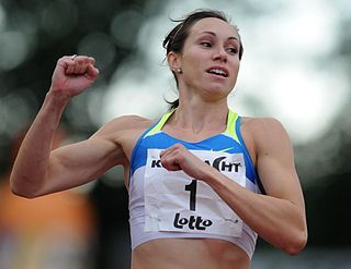 Kim Gevaert Belgian sprinter