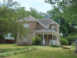 Kindley House - Image: Kindley House in Gravette, AR