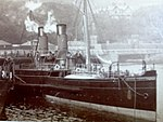 King Orry berthed at the Battery Pier, Douglas, Isle of Man..JPG