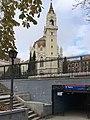Kirche am Ausgang Retiro-Park 2018 Madrid.jpeg